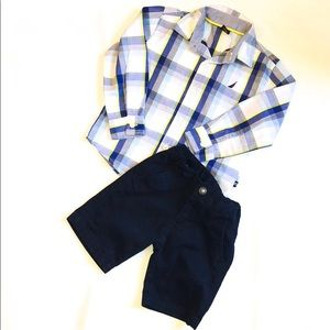 Toddler Boy Nautica Outfit